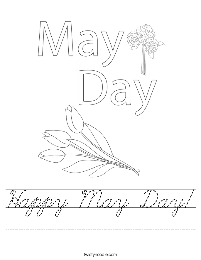 Happy May Day! Worksheet