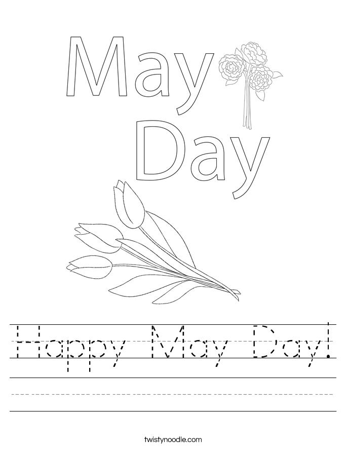 Happy May Day! Worksheet