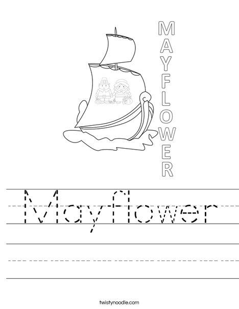 Mayflower Worksheet