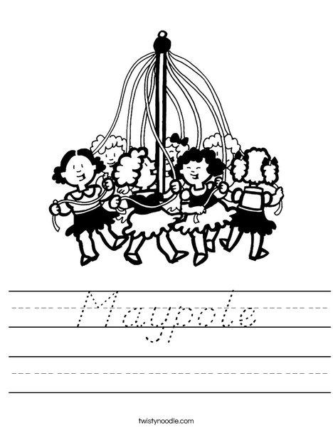 Maypole Worksheet