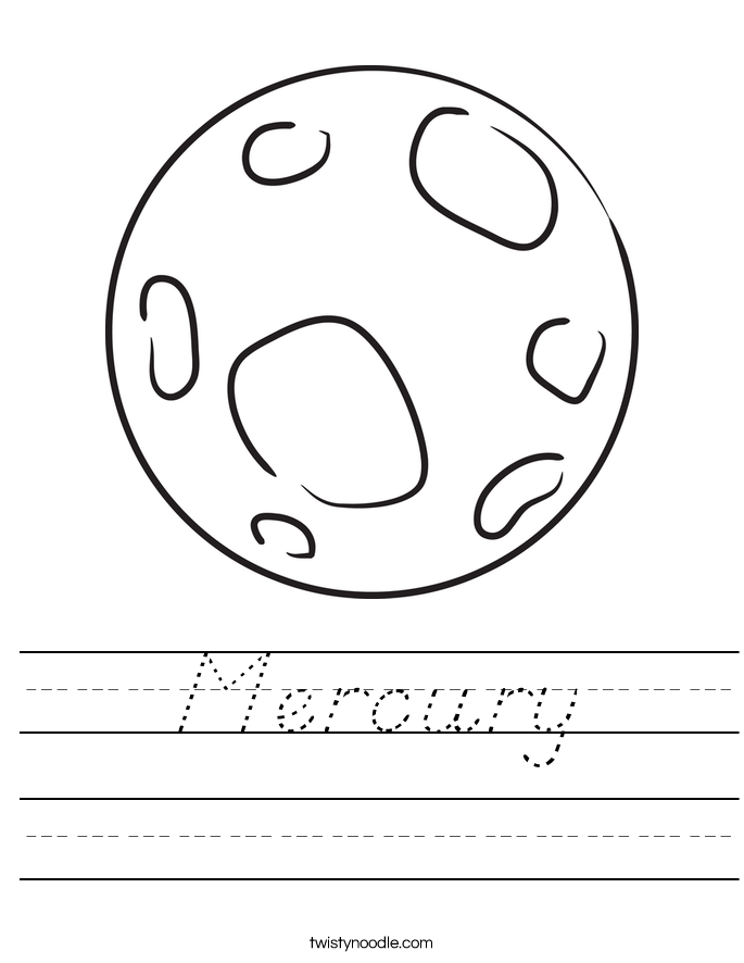 image gallery mercury outline