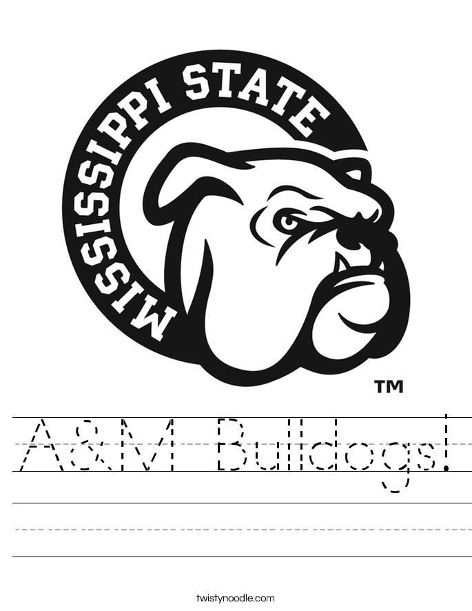 A&M Bulldogs! Worksheet