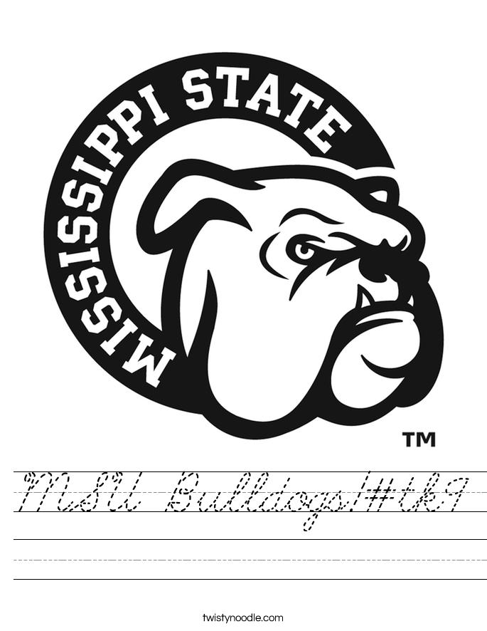 MSU Bulldogs!#tk9 Worksheet