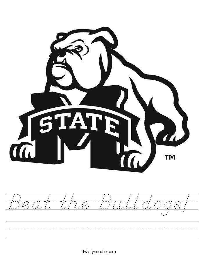 Beat the Bulldogs! Worksheet