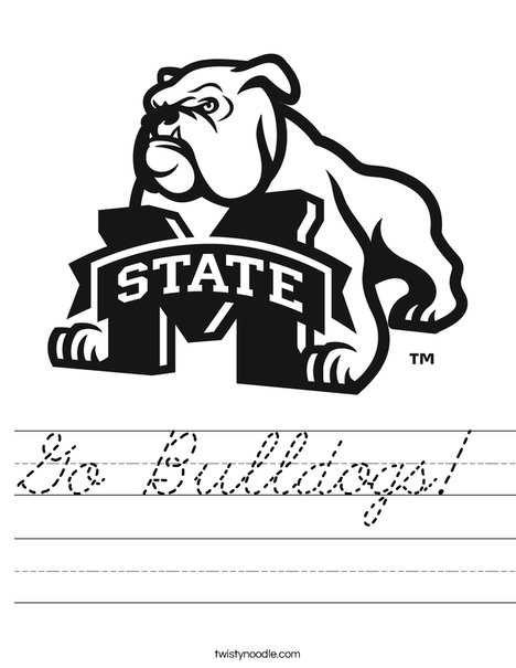 Mississippi State University Worksheet