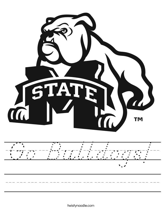 Go Bulldogs! Worksheet