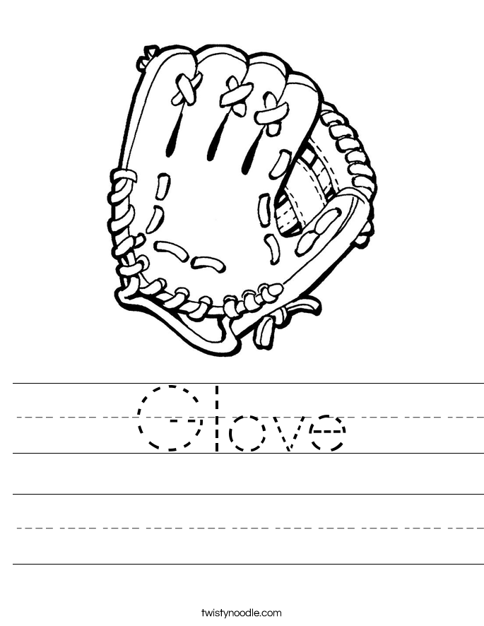 Glove Worksheet