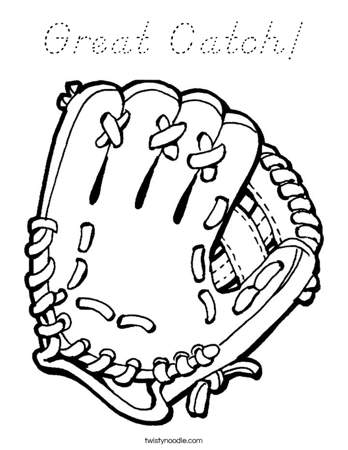 Great Catch! Coloring Page