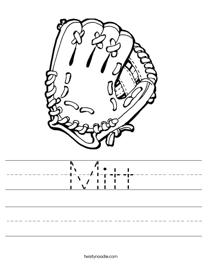 Mitt Worksheet