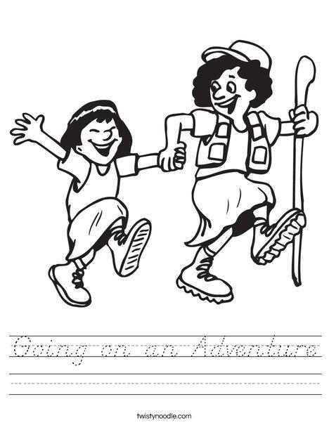Hiking Worksheet