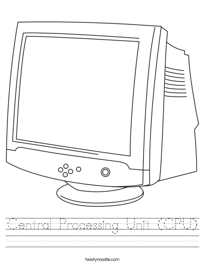 Central Processing Unit (CPU) Worksheet