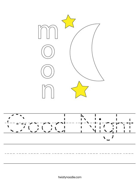printable goodnight moon coloring pages - photo#26