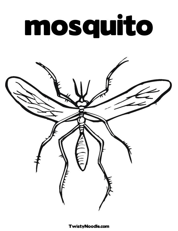 mosquitos del dengue Colouring Pages (page 2)