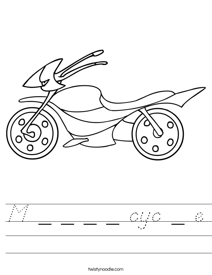 M _ _ _ _ cyc _ e Worksheet