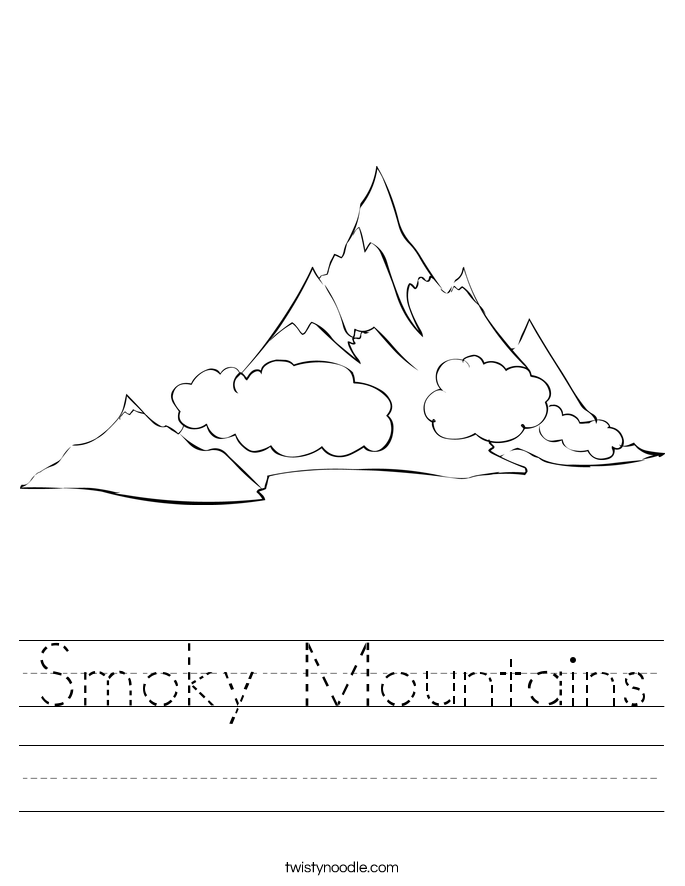 Smoky Mountains Worksheet