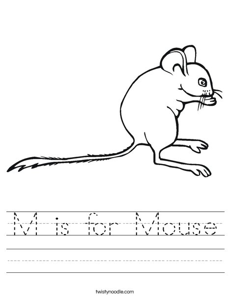 Mouse1 Worksheet