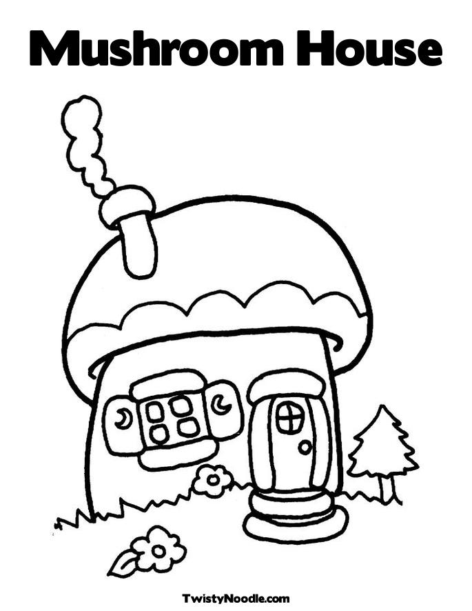 Whoville Houses Coloring Pages Coloring Pages