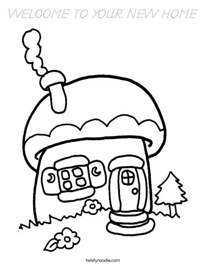 Welcome Home Mom Pages Coloring Pages