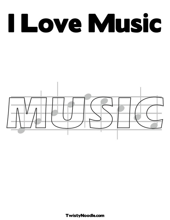 Love Music Coloring Pages I-love-music_coloring_page.jpg Music Note Coloring Pages For Adults