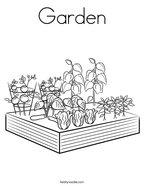 Garden Coloring Page