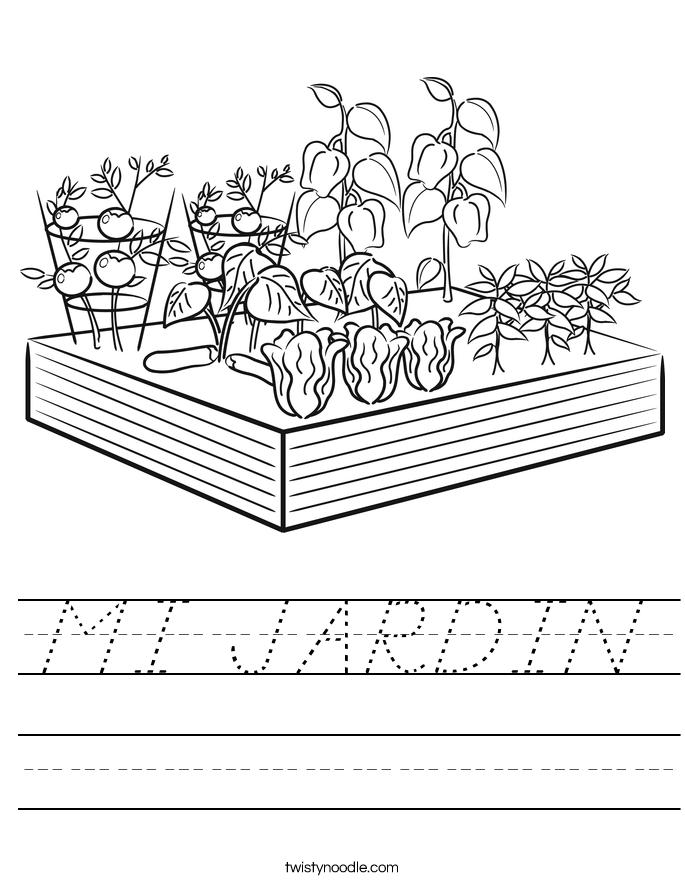 MI JARDIN Worksheet