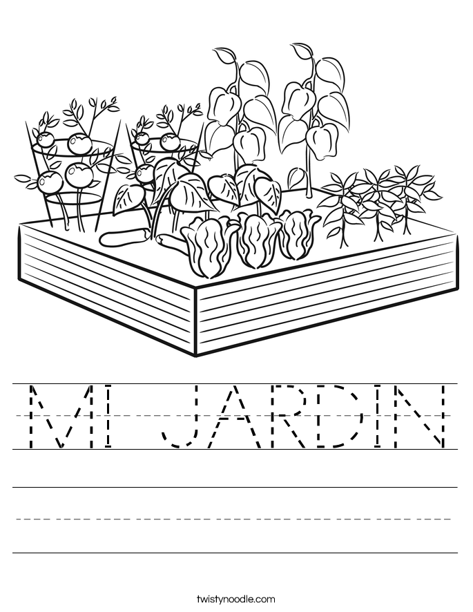 MI JARDIN Worksheet
