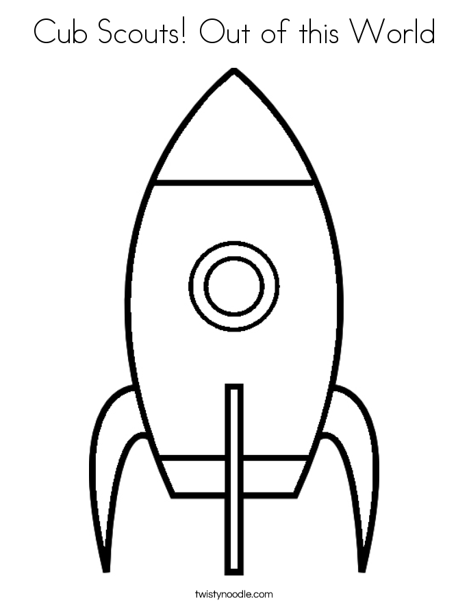 out of this world Colouring Pages