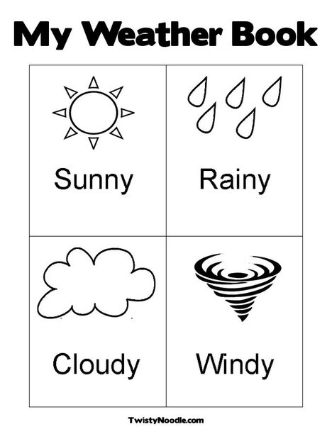 Weather Thermometer Coloring Page Coloring Book Thermome