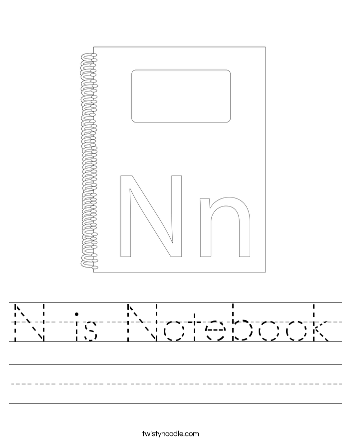 N is Notebook Worksheet