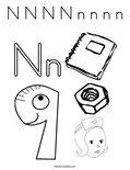 N N N N n n n n Coloring Page