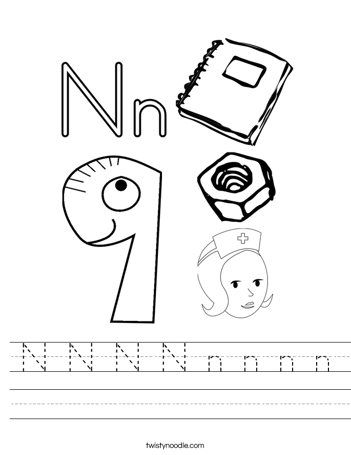 N N N N n n n n Worksheet