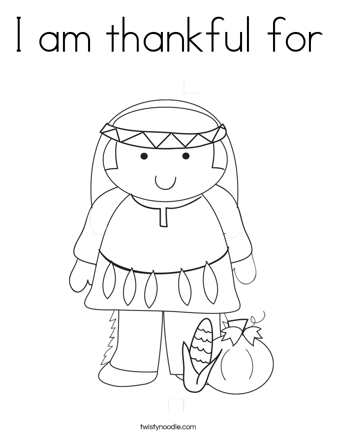 i am thankful for you coloring pages - photo #13