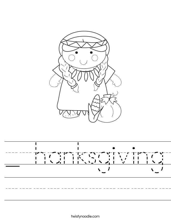 _ hanksgiving Worksheet