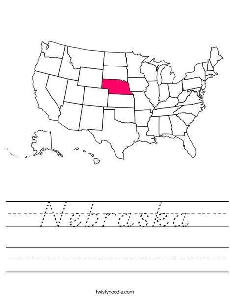 Nebraska Worksheet