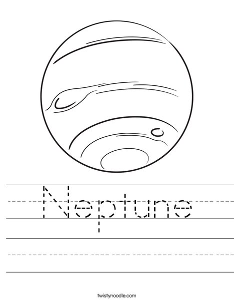 neptune coloring pages - photo#7