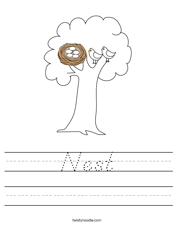 Nest Worksheet