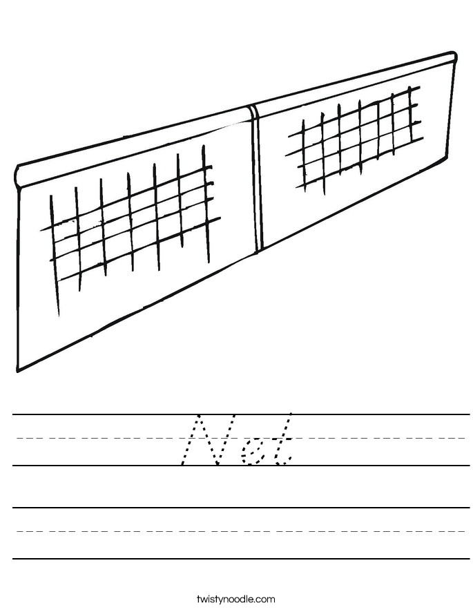 Net Worksheet
