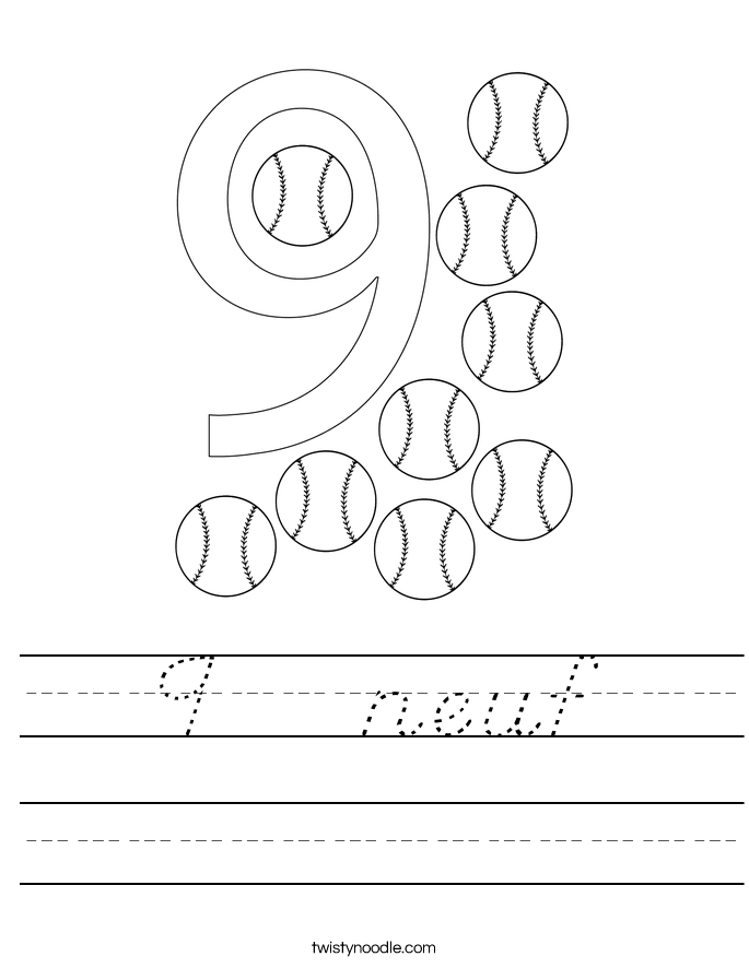 9   neuf Worksheet