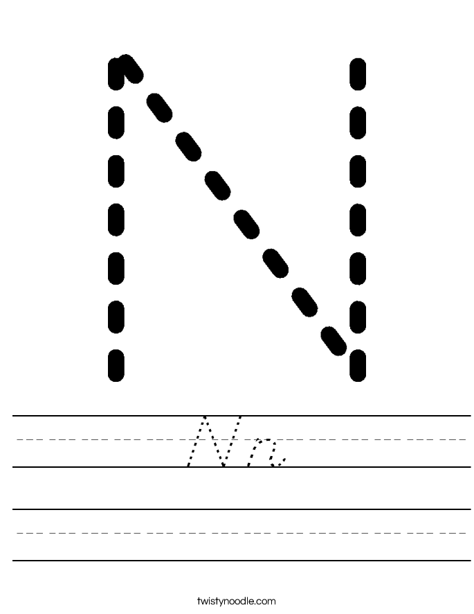 Nn Worksheet