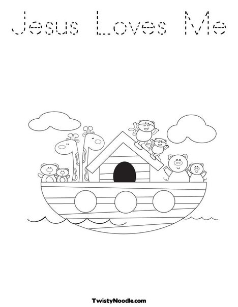 jesus loves me free coloring pages | katieyunholmes: coloring pages jesus loves me