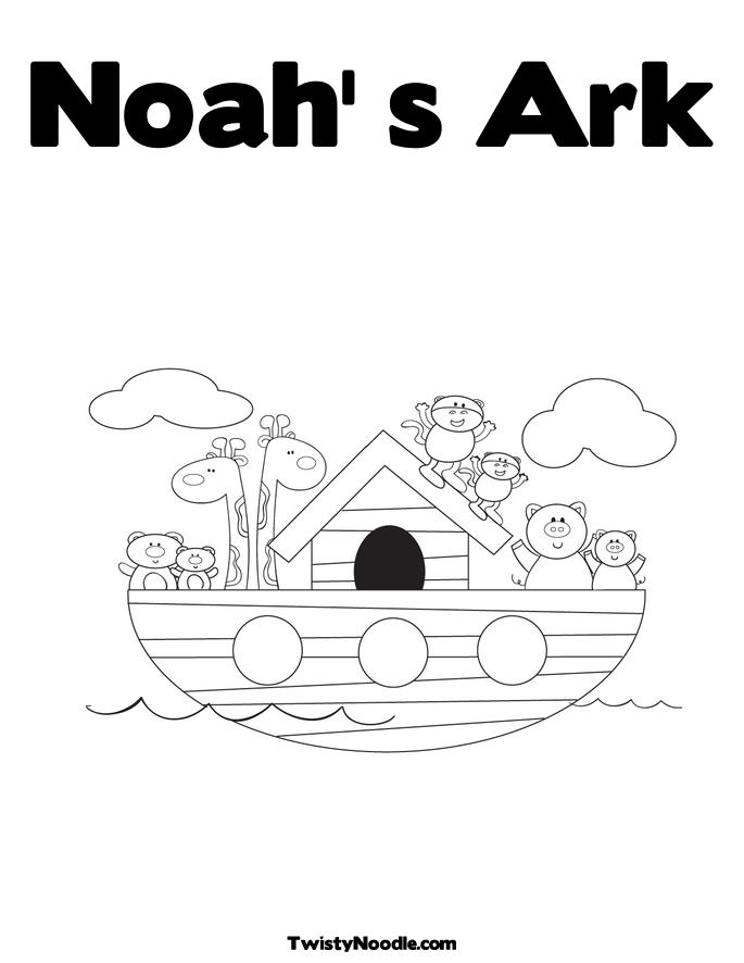 March 2011 free coloring pages for Noahs ark coloring page