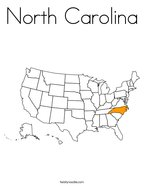 North Carolina Coloring Page