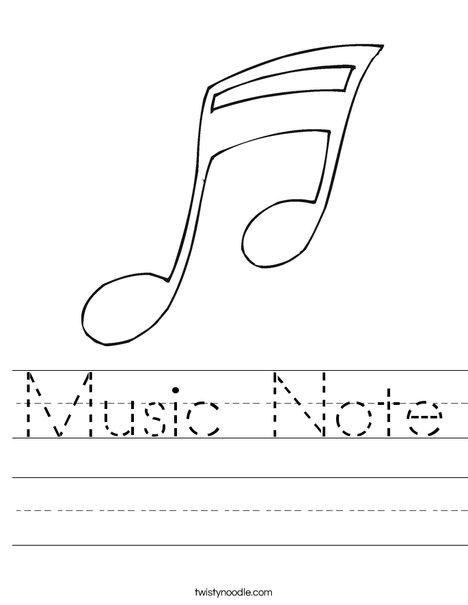 Note Worksheet