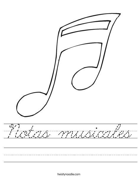 100+ Printable Note Values Worksheet with Music Worksheet ...