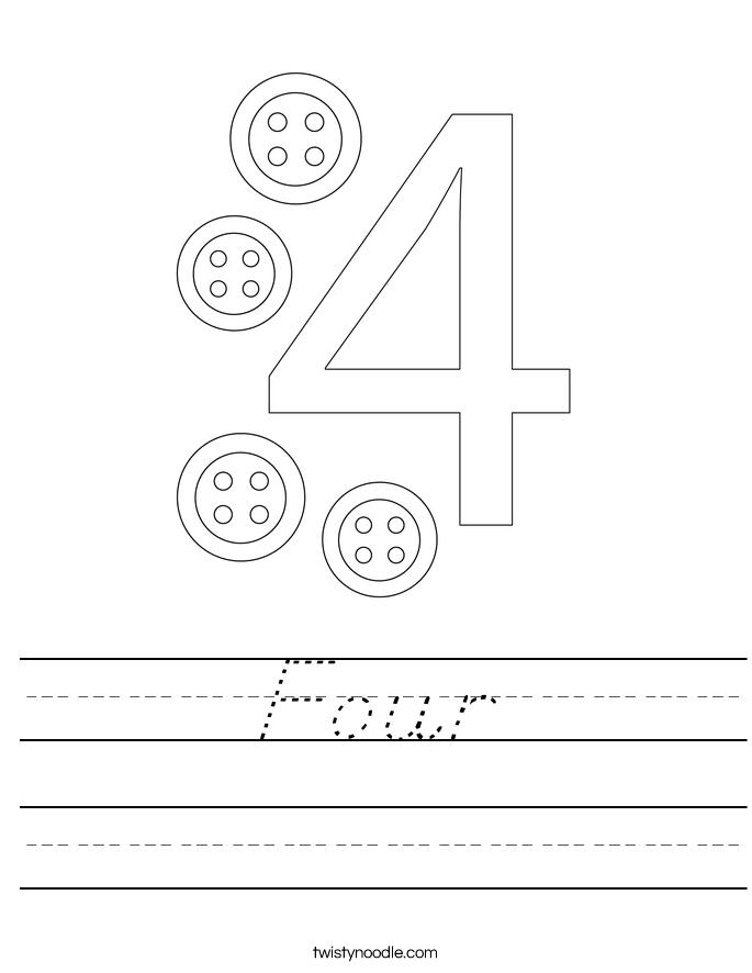 Four Worksheet