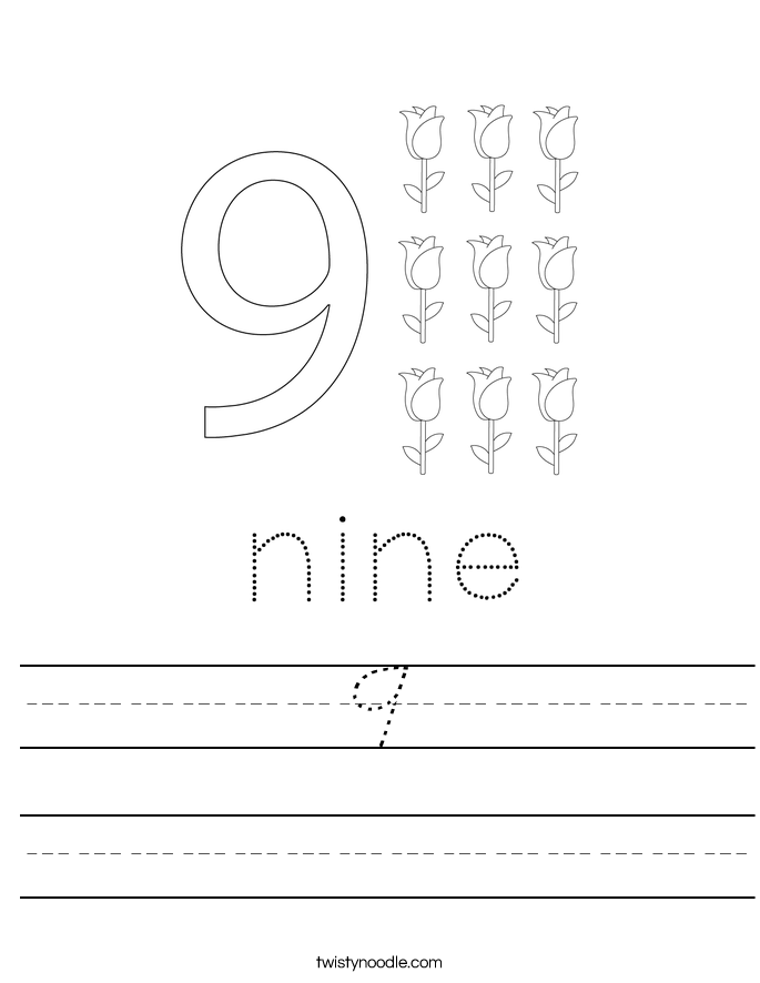 9 Worksheet