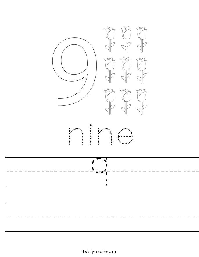9 Worksheet