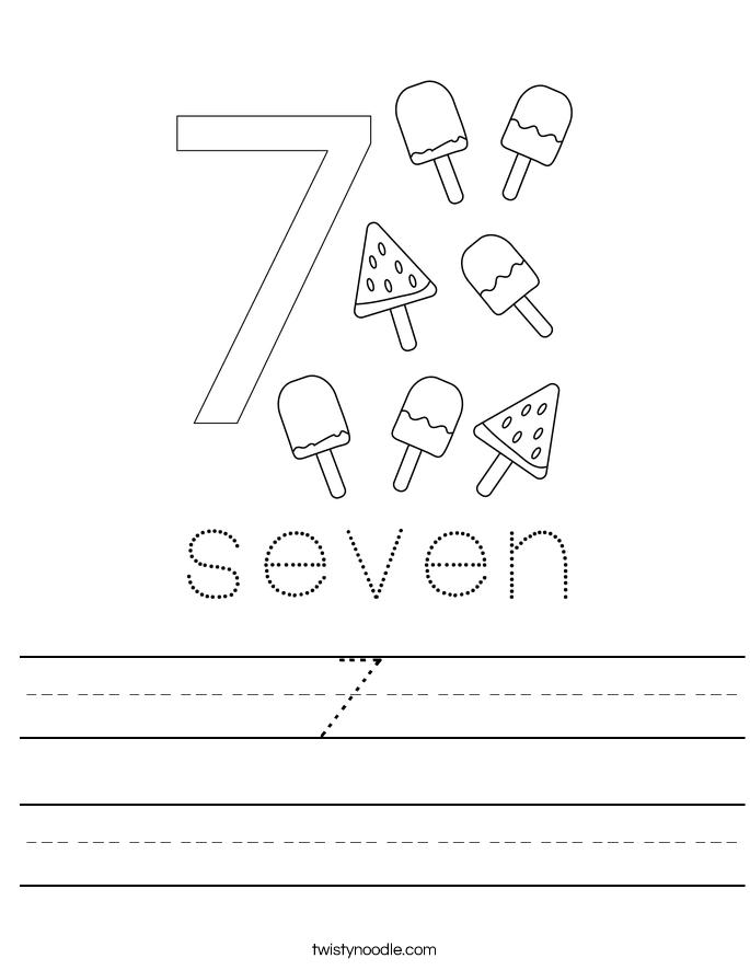 7  Worksheet