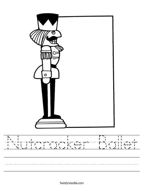 Nutcracker Worksheet