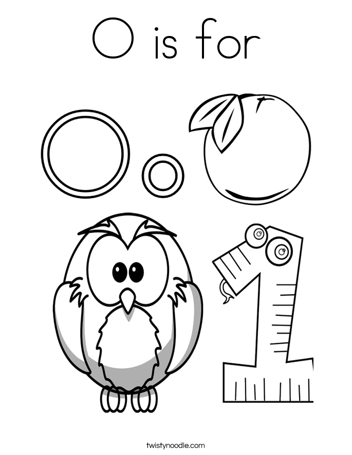 10 best Letter O Coloring Pages images on Pinterest | Kindergarten ...